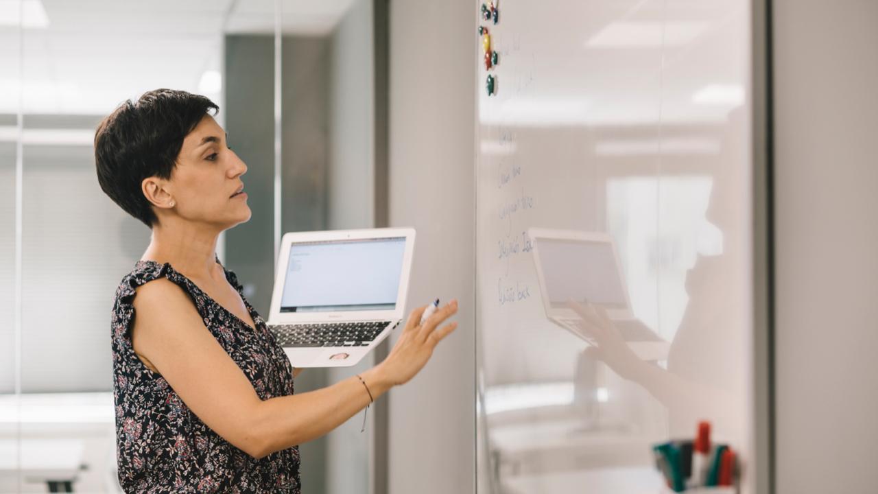 Explicación organigrama de una startup