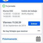 App para registrar el control de presencia en España